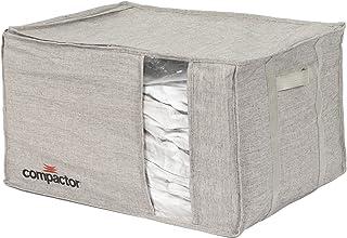 Compactor Sac de rangement sous vide semi-rigide taille XL 55 x 40 x 30 cm, gamme Oxford, gris, RAN10117