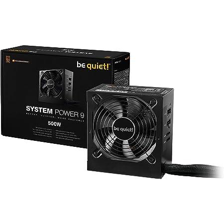 Be Quiet System Power 9 Atx Pc Netzteil 500w Cm Computer Zubehör