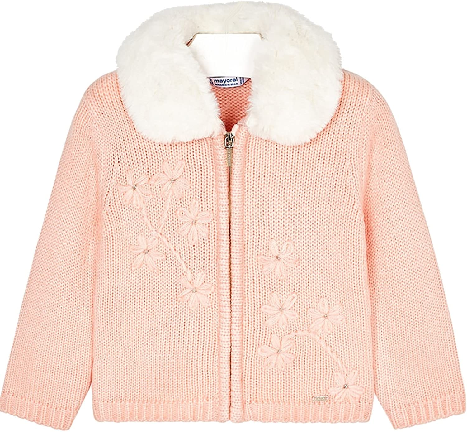 Mayoral - Knitting Pullover for Girls - 4340, Nude