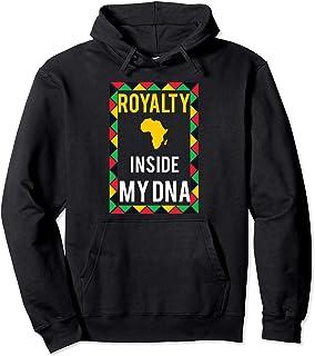African Royalty Inside My DNA Black Pride Hoodie Jacket