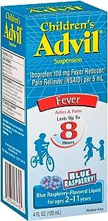 Advil Children's Pain Releiver, Blue Raspberry, 3 Count