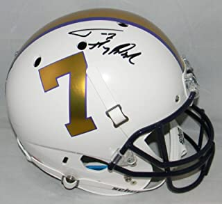 Tyrann Mathieu Autographed Lsu Tigers #7 Full Size Helmet W/Honey Badger - JSA Certified - Autographed College Helmets