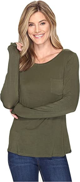 Prana - Foundation Long Sleeve Crew Neck Top