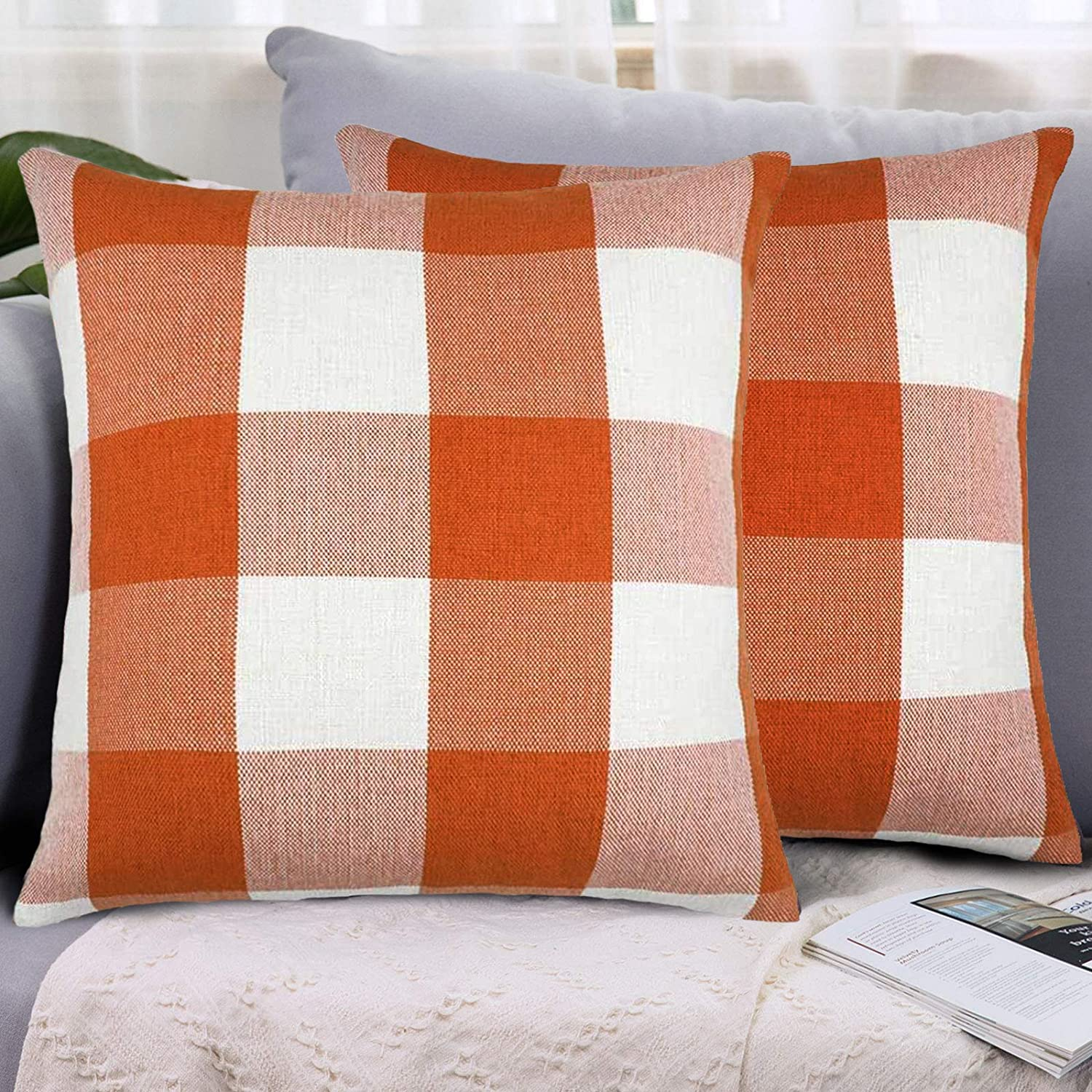 Shipping included LHKIS Throw Pillow Covers 16x16 At the price C Case Cushion Decorative