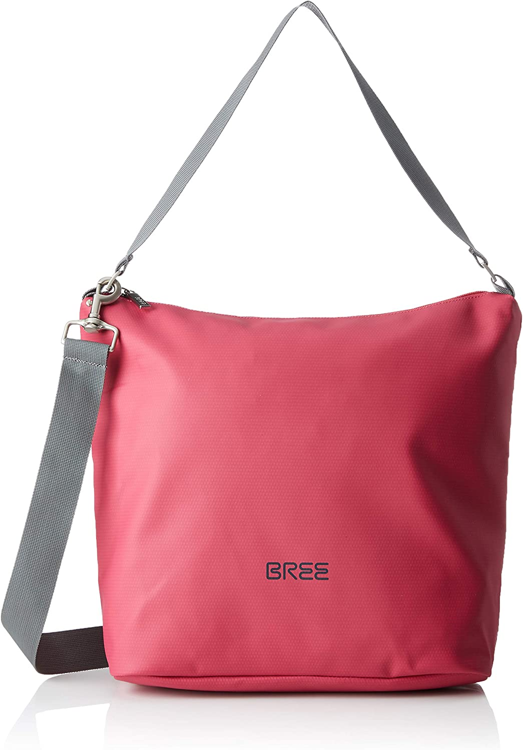 BREE Collection Punch 702, Jazzy, Cr. Sh. M S19, Unisex Adults' CrossBody Bag, Pink (Jazzy), 12x30.5x30 cm (B x H T)