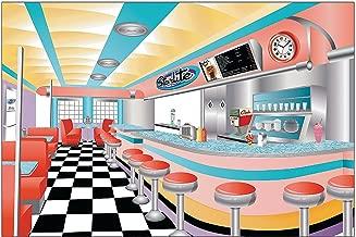 Best 50's diner backdrop Reviews
