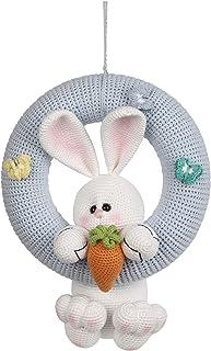 crochet Personalized Baby Wreath, Handmade, babies Hospital Door Hanger, Baby Nursery decor, Baby Shower Door Decoration, ...