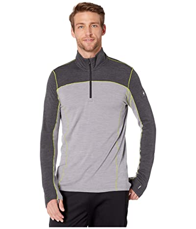 Smartwool Merino Sport 250 Long Sleeve 1/4 Zip (Charcoal Heather) Men