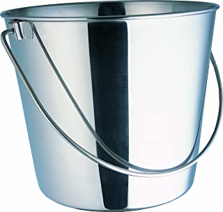 Indipets Heavy Duty Stainless Steel Pail