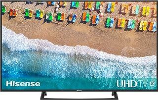 Hisense H55BE7200 - Smart TV 55' 4K Ultra HD con Alexa Integrada, Wifi, HDR, Dolby DTS, Peana Central, Procesador Quad Core, Smart TV VIDAA U 3.0 con IA, compatible con dispositivos Echo