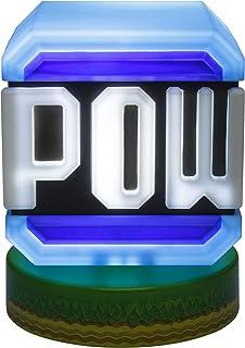 Paladone Super Mario Pow block-symbolljus, officiell licensierad produkt från Nintendo