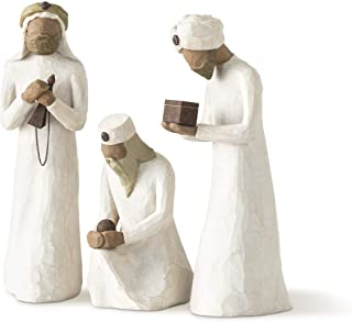 Best Willow Tree The Three Wisemen, Sculpted Hand-Painted Nativity Figures, 3-Piece Set Reviews