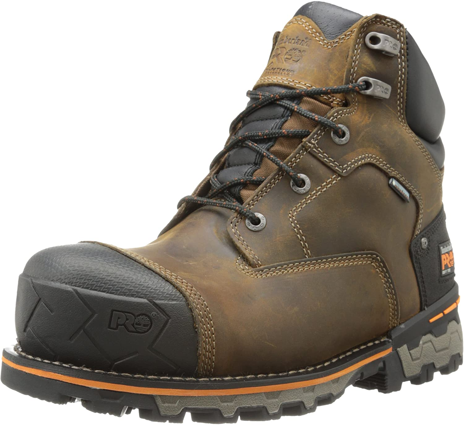 Timberland PRO Men's 6 Inch Boondock Soft Toe WP Industrial Industrial Industrial Work Stiefel,braun Oiled Distressed Leather,7.5 W US B00HNO7Z5Y  Berühmter Laden 3aee13