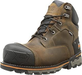 Timberland PRO Men's 6 Boondock Soft-Toe Waterproof Industrial Work Boot
