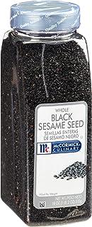 McCormick Culinary Whole Black Sesame Seed, 18 oz