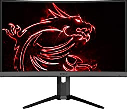 "$349 » MSI Non-Glare with Narrow Bezel 240Hz 1ms Height Adjustment 1500R Curvature AMD FreeSync HDMI/DP/USB HDR Ready 1920 x 1080 FHD 27"" Gaming Monitor (Optix MAG272CRX)"
