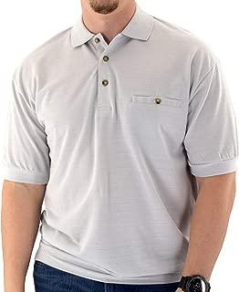 Classics By Palmland Short Sleeve Banded Bottom Shirt 6070-244 Light Grey