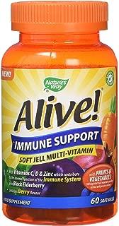 Alive Immune Soft Jells - Pack of 60 Tablets