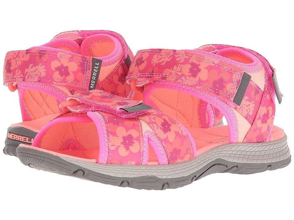 Merrell Kids Surf Strap 2.0 (Toddler/Little Kid/Big Kid) (Pink/Coral) Girl
