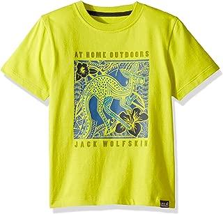 Jack Wolfskin Boy's Kuku Trail T Organic Cotton-blend T-shirt