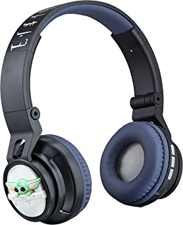 "Star Wars The Child Wireless Bluetooth Headphones with Microphone ""AKA Baby Yoda"" Volume Reduced to Protect Hearing for To..."