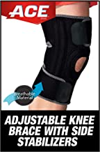 Best ACE Adjustable Knee Brace with Dual Side Stabilizers, Helps support weak, injured, arthritic or sore knee, Satisfaction Guarantee, One Size Fits Most (200290) Review