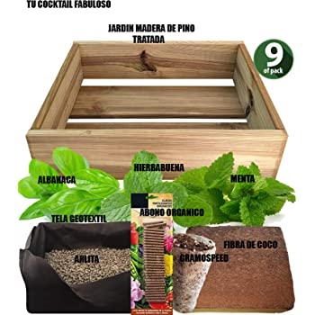 Cultivea Kit completo de hierbas - Cultive sus propias hierbas ...