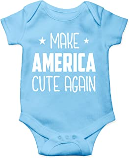 Make America Cute Again - MACA, Donald Trump for Reelection 2020 - Cute One-Piece Infant Baby Bodysuit