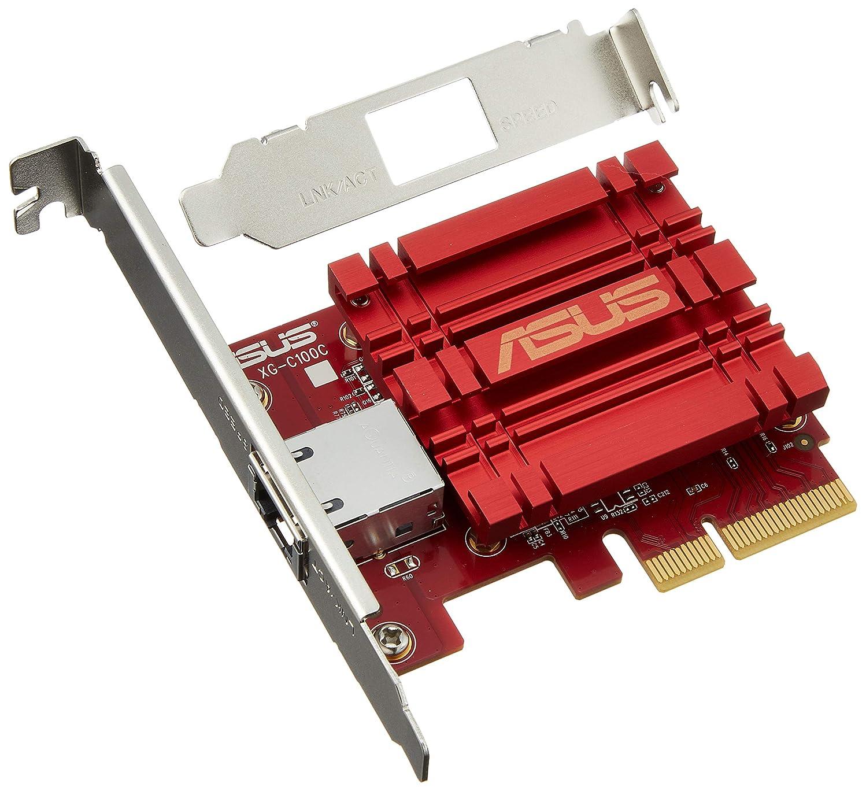 真鍮許されるかわすASUS 10Gネットワ??ークアダプタ PCI-Ex4カード XG-C100C