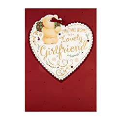 Christmas Card for Girlfriend from Hallmark - Cute Forever Friends Design