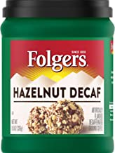 Folgers Hazelnut Decaf Coffee, 11.5 Ounce, Packaging May Vary