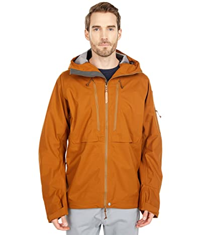 Fjallraven Keb Eco-Shell Jacket (Chestnut) Men