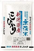 【精米】新潟県産 無洗米 コシヒカリ 5kg 令和元年産