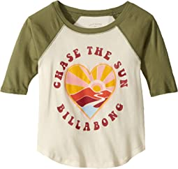 Chase the Sunshine Raglan (Little Kids/Big Kids)