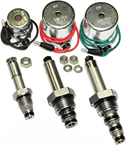 DME Mfg, MEYER Snow Plow Coil & Valve Set for E47, E57, E60, Pumps, Aftermkt, Optional 18-8 Stainless Steel Nuts Included