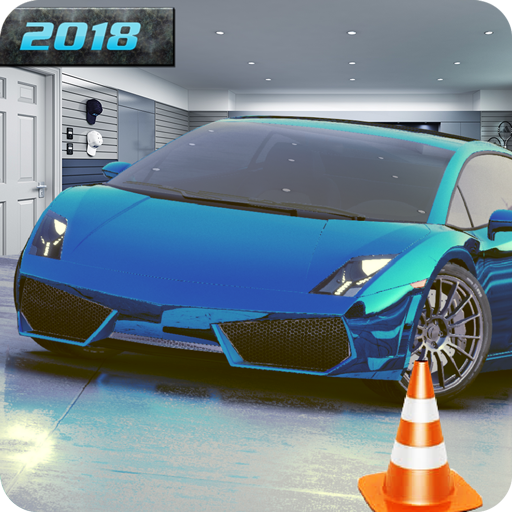 Car parking game in shopping center parking mania: Be the best car driver...