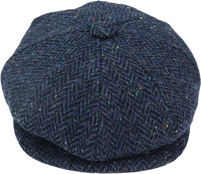 Men's Vintage Style Hats, Retro Hats 8 Panel Vintage Baker Boy Hat Newsboy Tweed Wool Herringbone 1920s Peaky  AT vintagedancer.com