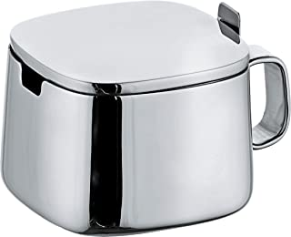 Alessi A di Sugar Bowl, Stainless Steel, (A404)