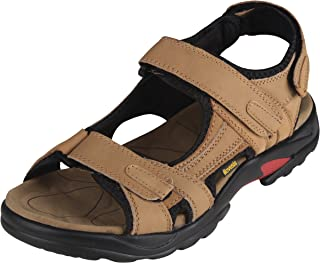 iLoveSIA Mens Leather Sandals Athletic and Outdoor Shoes