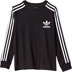 adidas Originals Kids - California Long Sleeve Tee (Little Kids/Big Kids)