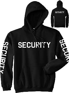 Event Security Uniform Mens Pullover Hoodie Hoody