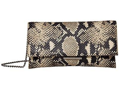 Loeffler Randall Tab Clutch (Sand) Clutch Handbags