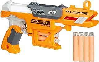 Hasbro B9840, Lança Dardo Nerf Accustrike Falconfire, Laranja