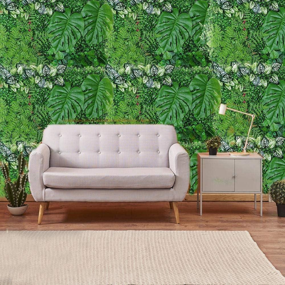 rosemaryrose Wandpaneele Zaun Gras K/ünstliche Buchsbaum Hecke Hintergrund-40 60CM K/ünstliche Pflanze Hecke Panel UV-gesch/ützte Privatsph/äre Zaun Bildschirm f/ür Outdoor-Garten-Hinterhof