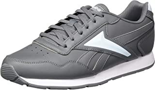 Reebok Royal Glide Leather Synthetic Side-Logo Detail Lace-up Sneakers for Women