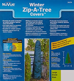NuVue Products 24174 Zip-A-Tree Covers, Multiple Sizes Available
