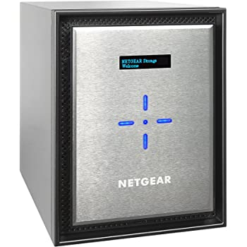 NETGEAR ReadyNAS 6-Bay Ultimate Performance Network Attached Storage, Diskless, 60TB Capacity, Intel Xeon 2.2GHz Quad Core Processor, 8GB RAM (RN626X00-100NES)
