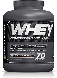 Cellucor COR-Performance Protein Powder 5lb , Molten, Chocolate, 83.04 Ounce
