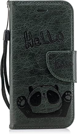 Panda Flip Leather Soft [Slim Fit] with Wallet/Stand/Card Slots/