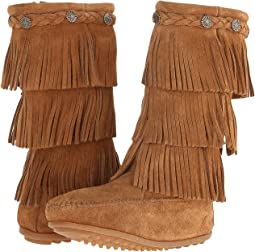 3-Layer Fringe Boot (Toddler/Little Kid/Big Kid)